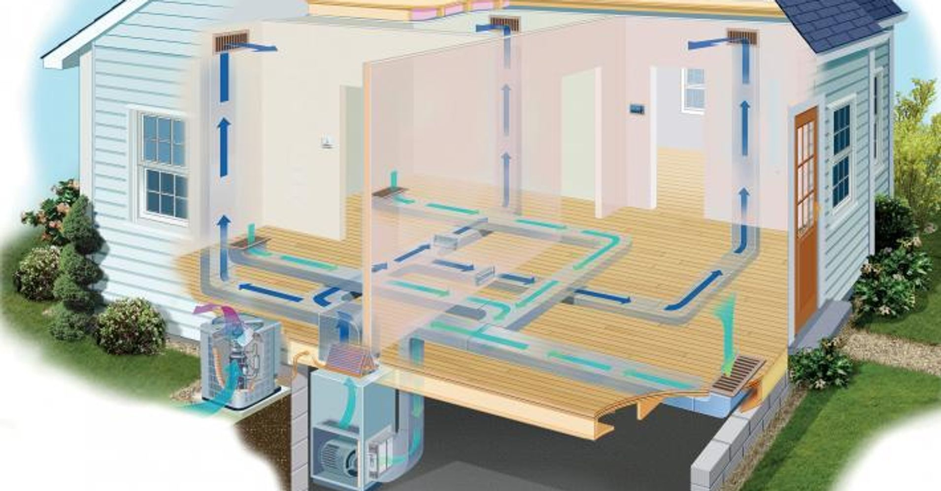 Section of HVAC System