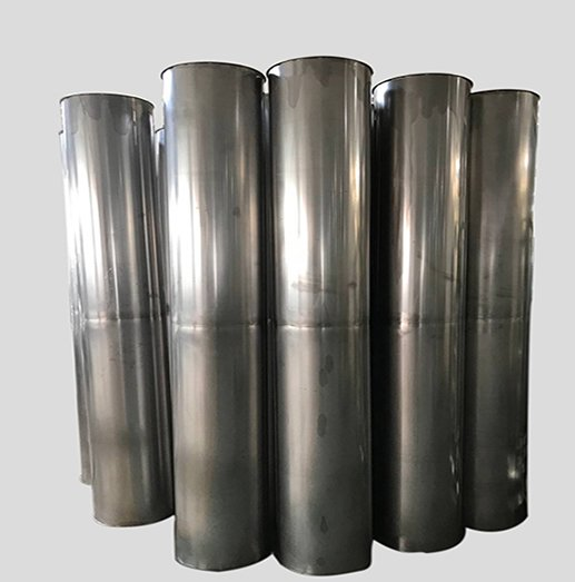 Rigid metal ventilation duct system