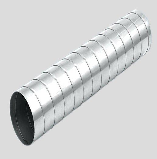 Round spiral duct