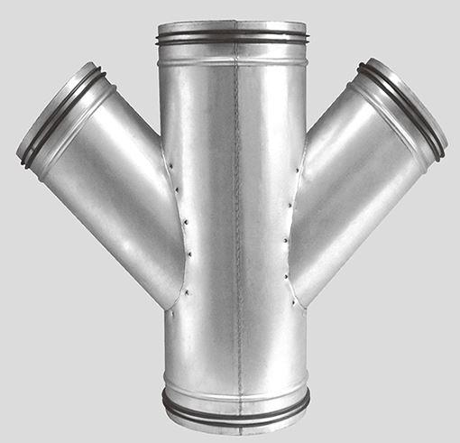 3 way duct splitter