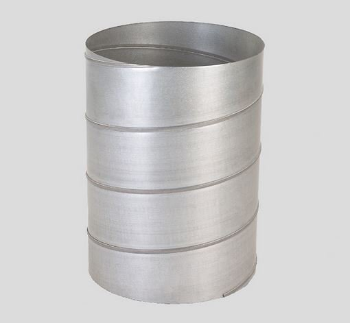 Galvanized spiral ducting