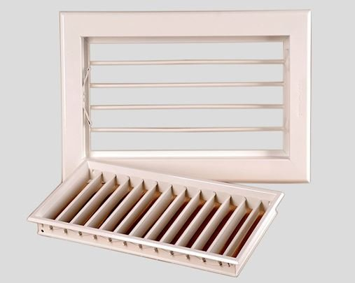 HVAC supply air diffuser