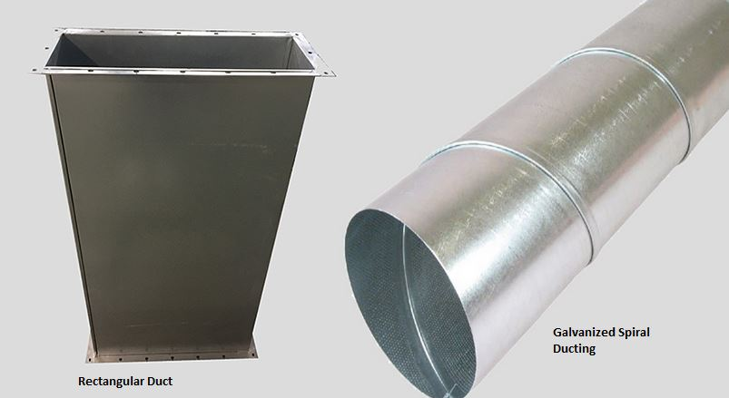 Galvanized Spiral Duct Galvanised Ductwork Manufacturer